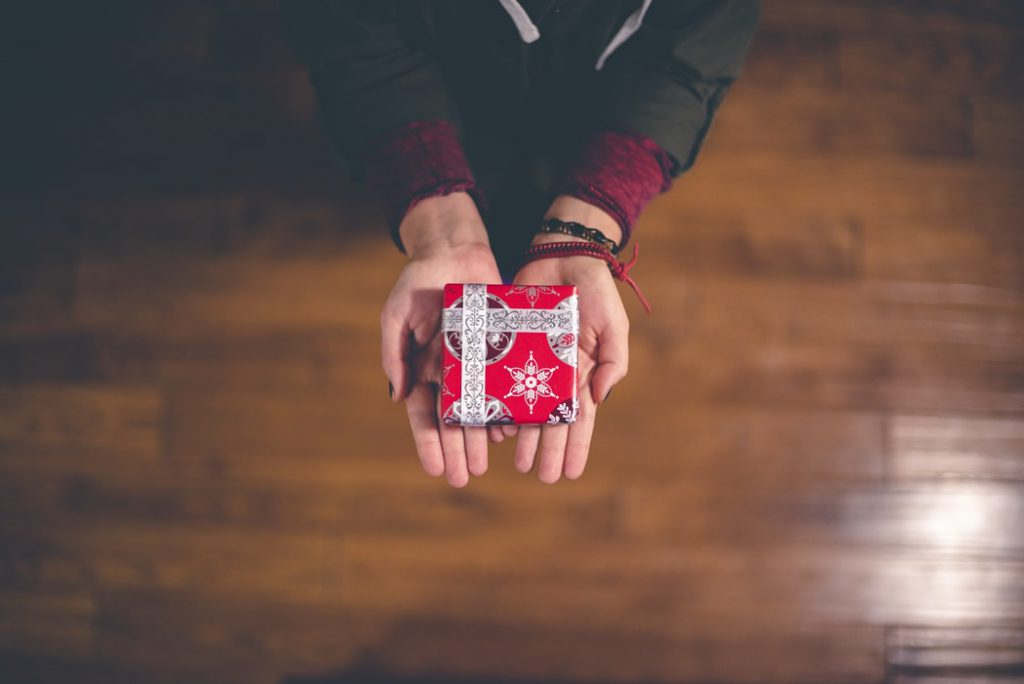 Photo cadeau Noël